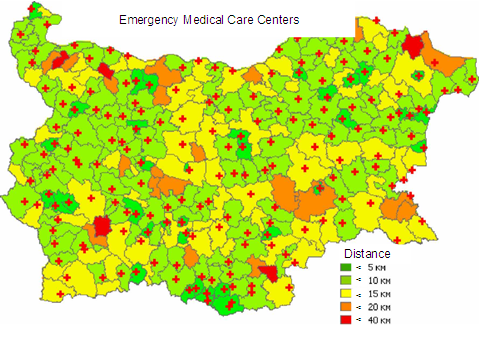 EMERGENCY MEDICAL CARE SERVICES IN REPUBLIC OF BULGARIA -  STRUCTURE, FUNCTIONS AND ACTUAL STATUS OF MEDICAL STAFF