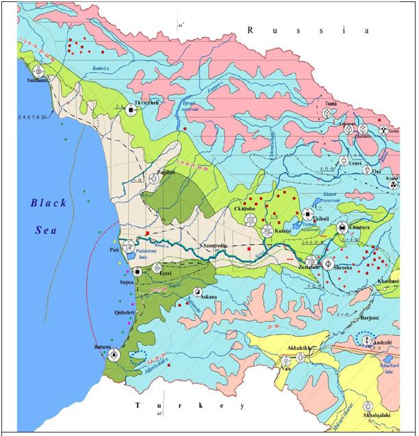 GEO-ENVIRONMENTAL PECULIARITIES OF THE TERRITORY OF COLCHIS AND RIONI RIVER BASIN AREA (WEST GEORGIA, CAUCASUS)
