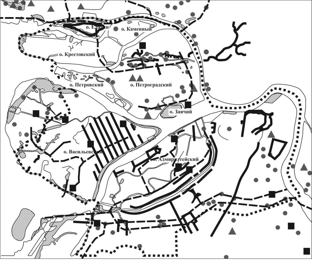 Исторический аспект геоэкологических исследований при решении инженерно-геологических проблем освоения и использования подземного пространства мегаполисов (на примере Санкт-Петербурга)